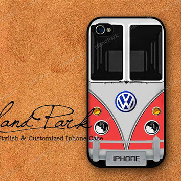 VW Minibus iPhone 4 Case, iPhone 4s Case, iPhone Case, iPhone hard Case