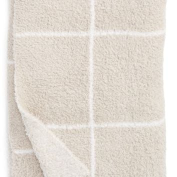 Barefoot Dreams® Cozychic® Windowpane Plaid Throw Blanket | Nordstrom