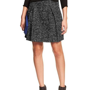 Banana Republic Womens Factory Bouclé Flare Skirt Size 0 - Cool combo