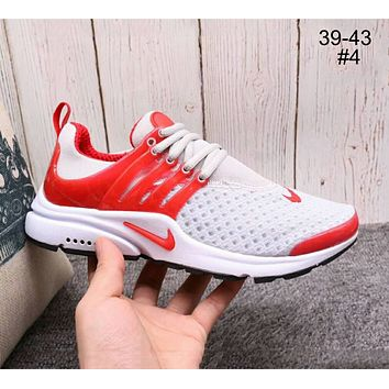 NIKE AIR PRESTO Breathable Casual Running Shoes for Men and Women F-A36H-MY #4