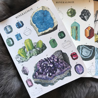 Mineralogy - Mini Notebook Set