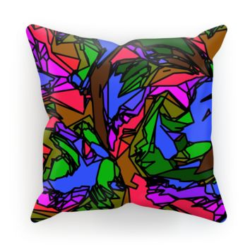 Melted Crayons Cushion
