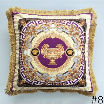 Versace 2018 new digital printing pillowcase sofa cushion cover F0933-1 #8