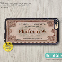 platform train ticket, iPhone 6 case, iPhone 6 Plus case, iPhone case, iPhone 5 case, iPhone 5S Case, Galaxy S5 S4 S3 Note 2 Note 3, A0064