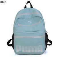 PUMA 2018 new outdoor leisure travel computer backpack backpack Blue