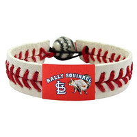MLB St. Louis Cardinals Rally Squirrel Classic Baseball Bracelet