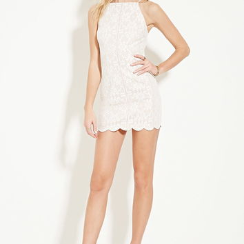 Floral-Embroidered Cami Dress | Forever 21 - 2000153718