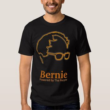Sanders 2016 Powered by The People Tshirts