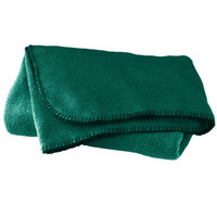 Augusta 5060 Chill Fleece Blanket - Dark Green