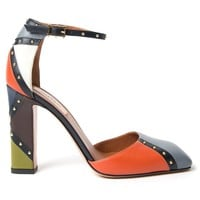 Valentino Garavani 'Pop Stud' border pumps