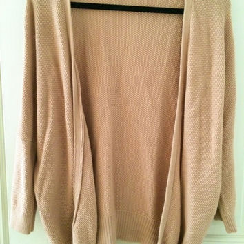 Dusty Pink Knit Theory Sweater