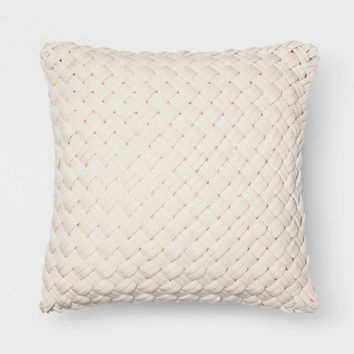 Chunky Knit Oversize Throw Pillow - Threshold™