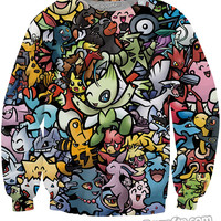 Pokemon Team Up Crewneck Sweatshirt