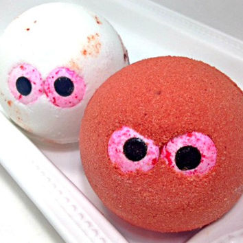 Large Bath Bomb- Halloween Bath Bomb- Build Your Own Bath Bomb- Stink Eye