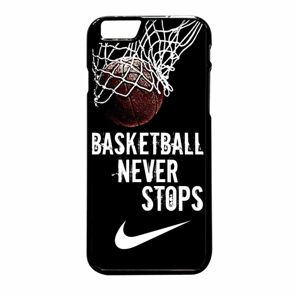 nike basketball never stops iphone 6 plus from case beauty. Black Bedroom Furniture Sets. Home Design Ideas