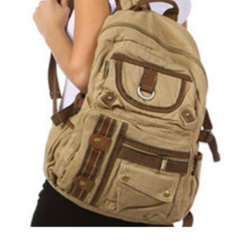 Casual Multi-Compartment Utility Backpack