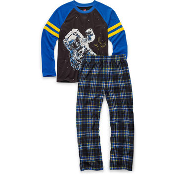 Hanes Boys Sleepwear 2-Piece Set, Astronaut Print