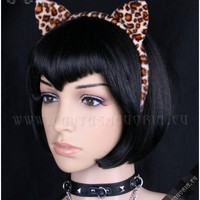 Brown Kitty hairband | HAIR | GOTHIC, METAL, PUNK, LOLITA & STEAMPUNK FASHION ACCESSORIES FOR MEN AND WOMEN