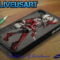 Harley Quinn 4 Case for iphone 4/4s, iphone 5/5s/5c, Samsung Galaxy S3/S4