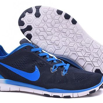 Nike Free TR FIT 5 Brthe Women's Training Shoes Clearwater Black/Blue