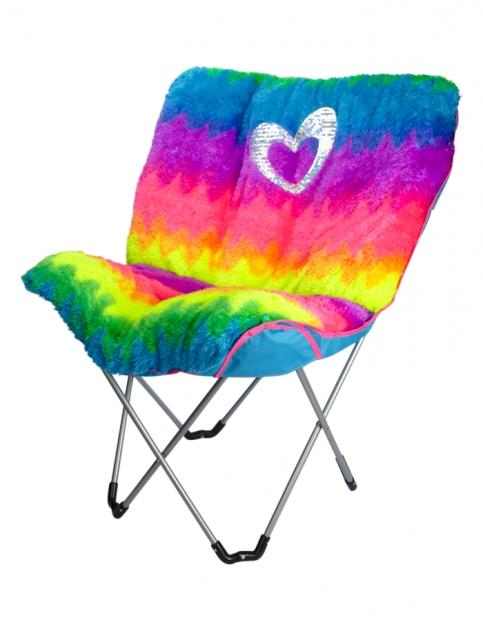 Faux Fur Rainbow Butterfly Chair Girls From Justice