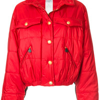 Chanel Vintage Quilted Bomber Jacket - Farfetch