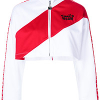 MSGM MSGM X Diadora Cropped Zipper Jacket - Farfetch
