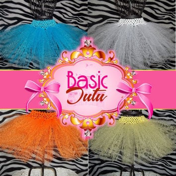 Our Basic Tutu Skirt - Parties, Pageants, Group Events, Celebrations, Birthday, Dance, Fun - Photo prop -