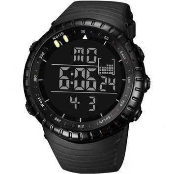 LED Military Sport Watch