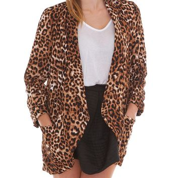 Gotta Have Blazer - Animal Print