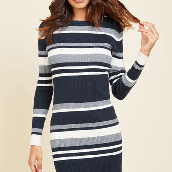 As Luck Would Have Knit Sweater Dress | Mod Retro Vintage Dresses | ModCloth.com