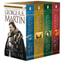 A Game of Thrones 4-Book Boxed Set