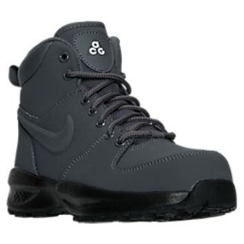Boys' Grade School Nike Manoa Leather Boots | Finish Line