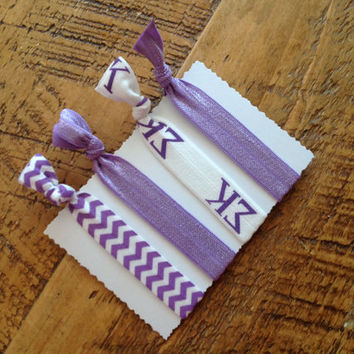 Sigma kappa Sorority Hair Ties Big Little Gift  Bid Day Stocking Stuffer