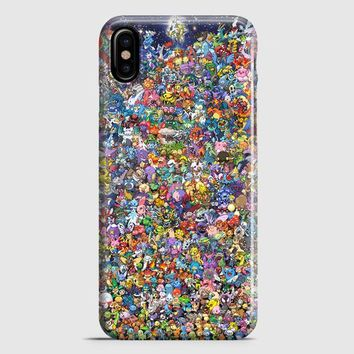 All Pokemon iPhone X Case