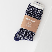 Bjarki Winter Socks in Navy