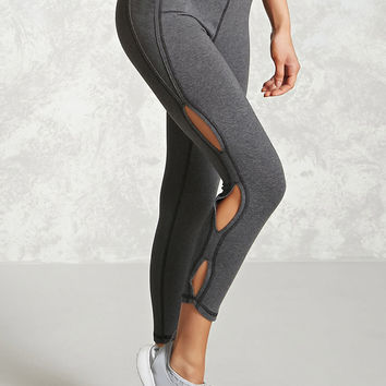 Active Cutout Cropped Leggings