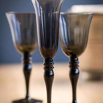 Hand Blown Champagne Glasses