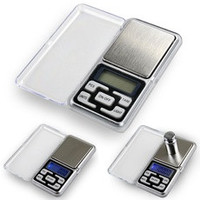 0.01gx200g Mini Digital Jewelry Pocket Scale Gram Precise Weighing Balance  D_L [7898479047]