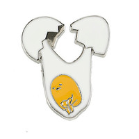 Gudetama Drop Enamel Pin