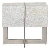 Classic Home Desmond Bleached Reclaimed Mango Wood End Table | Nordstrom
