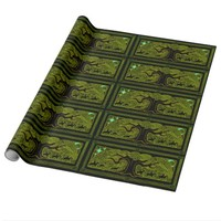 Celtic Magic - The Great Tree Wrapping Paper