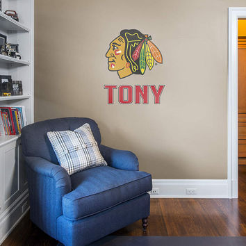 NHL Team Stacked Personalized Name
