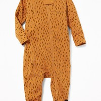 Bear-Critter Footed One-Piece for Baby | Old Navy