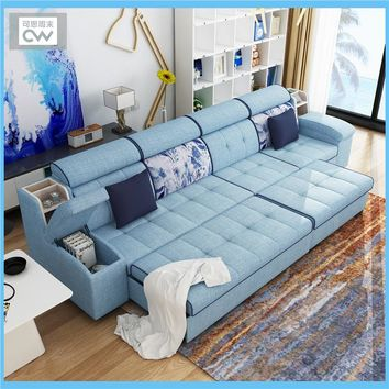 Hot!! Multi-Functional  Living Room Furniture  Sofa Bed