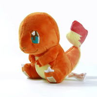 "5.5"" Pokemon Plush Toys Charmander 14cm Cute Stuffed Plush Toy Doll Anieme Pokemon For Kids Birthday Christmas Gift"