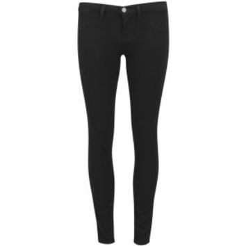 J BRAND WOMEN'S LOW RISE SUPER SKINNY JEANS - PITCH