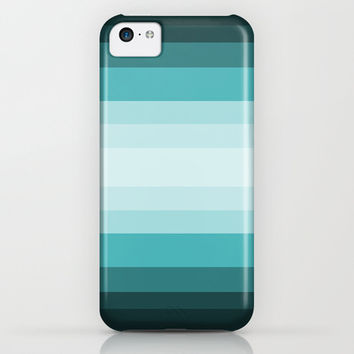 Teal Fantasy iPhone & iPod Case by Lisa Argyropoulos