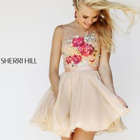Sherri Hill 21198 Lace Party Dress