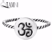 Fashion Style Stackable Meditation Statement Rings
